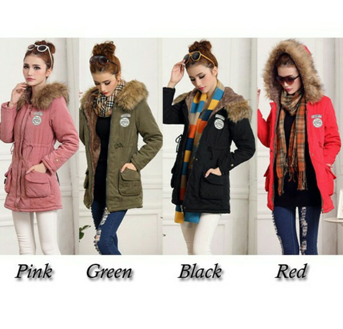 Jual jaket winter coat import bulu fashion korea - Omah Wanita ... f893d01ae2