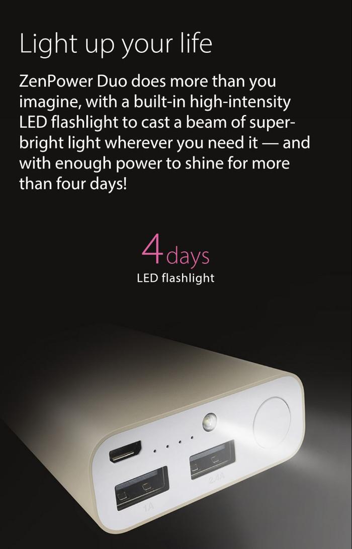harga Powerbank Asus Zen Power Pro 10050mah 2pot Usb Original Asus 100% Tokopedia.com