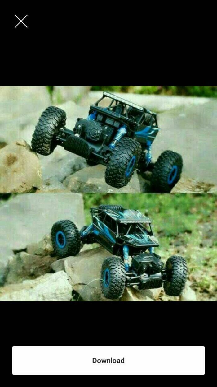 Jual Mainan Mobil Rock Crawler 4wd 1 18 Jakarta Barat Sevenly Makmur