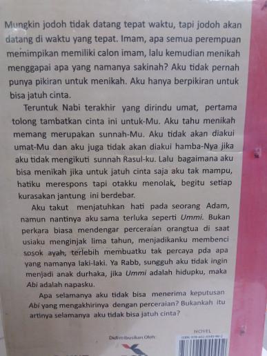 novel assalamualaikum calon imam