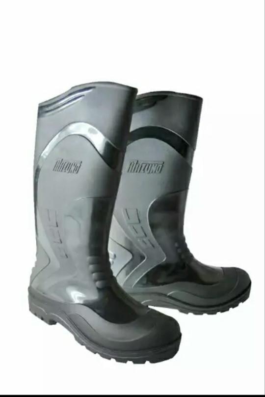 Jual Sepatu boots panjang safety Mitzuno   boot karet - Goodsshopone ... d02fd6d839