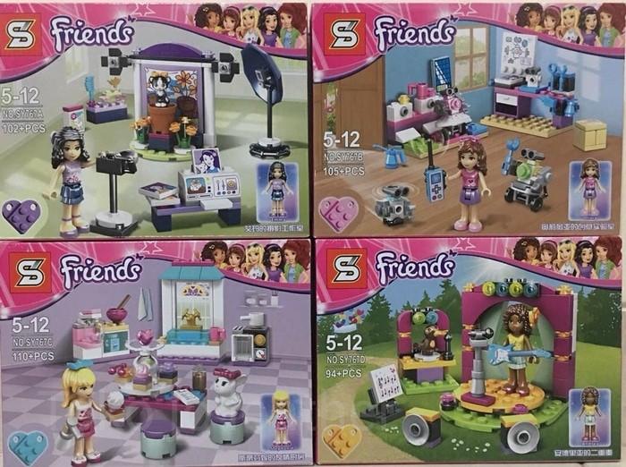 Jual Lego kw Friends merk SY/Konser musik/studio photo ...