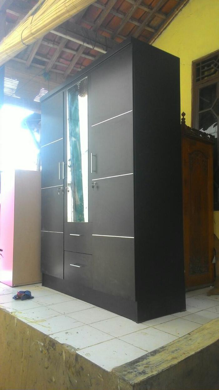 Jual Lemari 3 Pintu Laci 2 Bisa Berbagai Model Buatan Wokhsop Pree Order Kab Bogor Hamidahfurnis