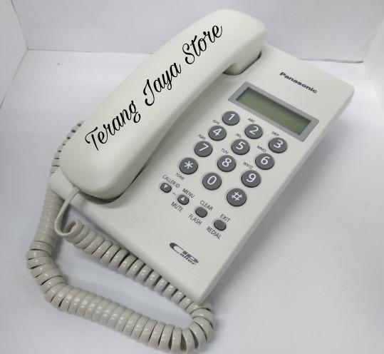 harga Telepon kabel panasonic kx-tsc60 (putih) pesawat telepon rumah tsc60 Tokopedia.com