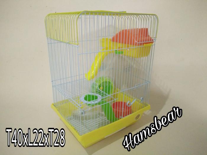 harga Kandang hamster merk octagon | 40x22x28 | best quality Tokopedia.com