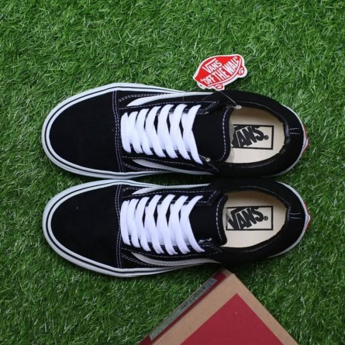Jual Sepatu vans old skool black white classic premium BNIB - Hitam ... 7af719ab9f