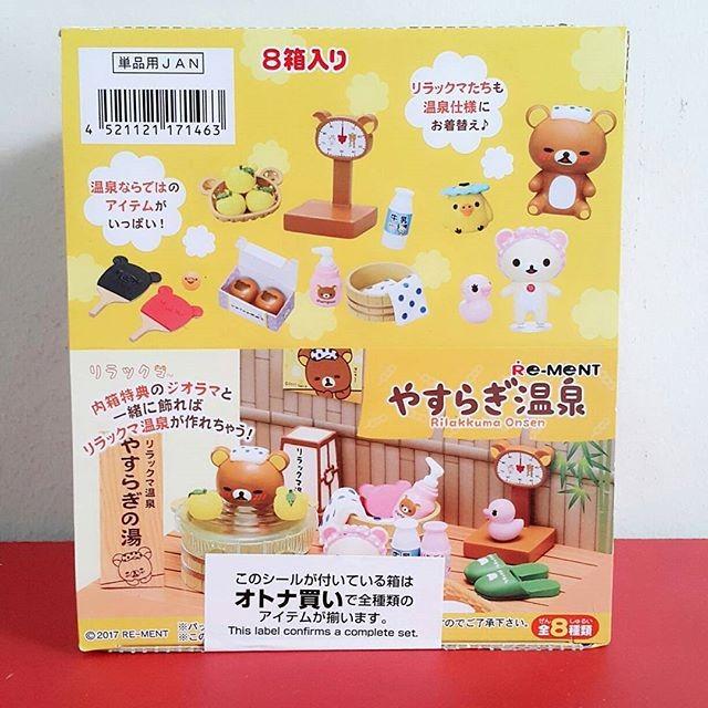 harga Re-ment sanrio rilakkuma onsen original japan promo Tokopedia.com