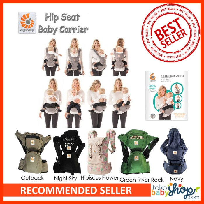harga Gendongan Ergo Baby Hip Seat Baby Carrier Ergobaby Tokopedia.com