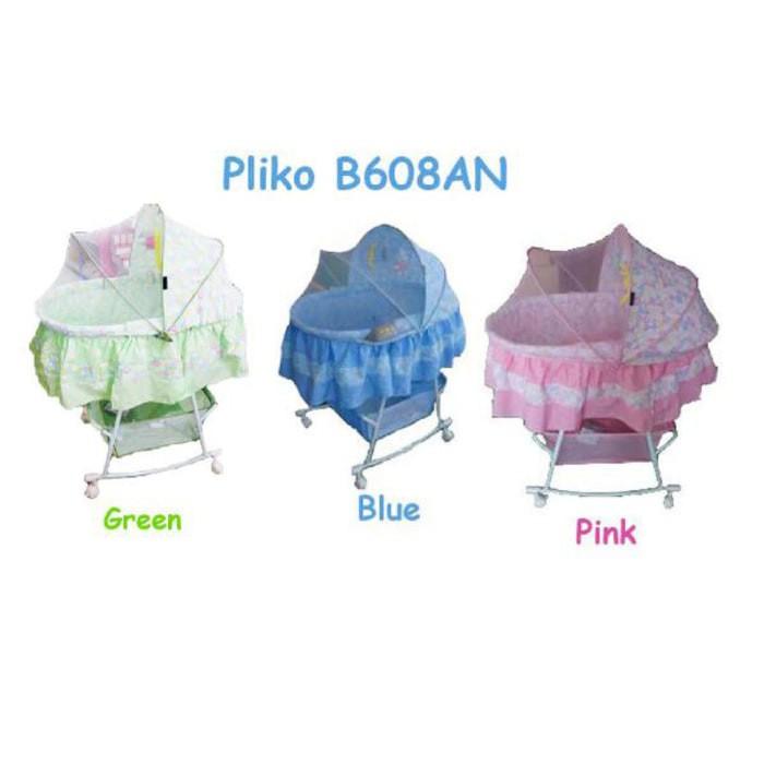 harga Pliko bassinet oval 608 / box bayi / tempat tidur bayi / ayunan bayi Tokopedia.com