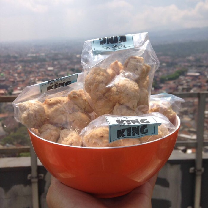 Batagor kuah maicih - pedas original level 10 (paket 2cup)   Shopee Indonesia.
