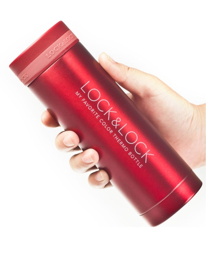lock&lock vacuum bottle mini mug 300ml (lhc560)