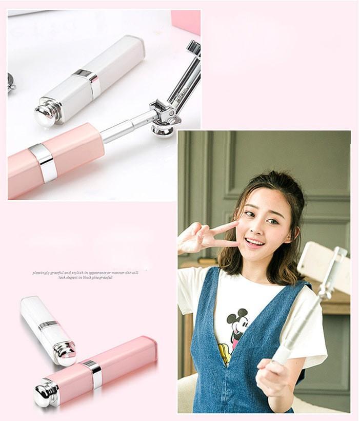 harga Tongsis lipstik super mini size monopod lipstick selfie stick s1 Tokopedia.com