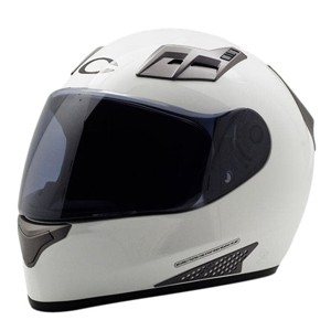 cargloss new sport one helm full face - super w white