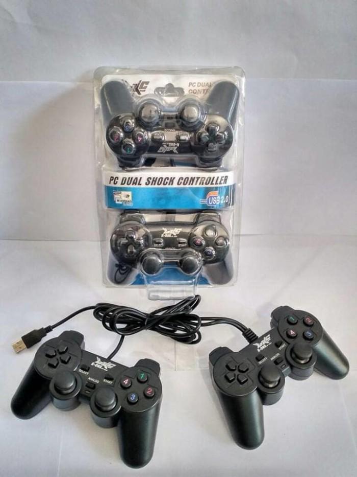 Gamepad Double Hitam K-One