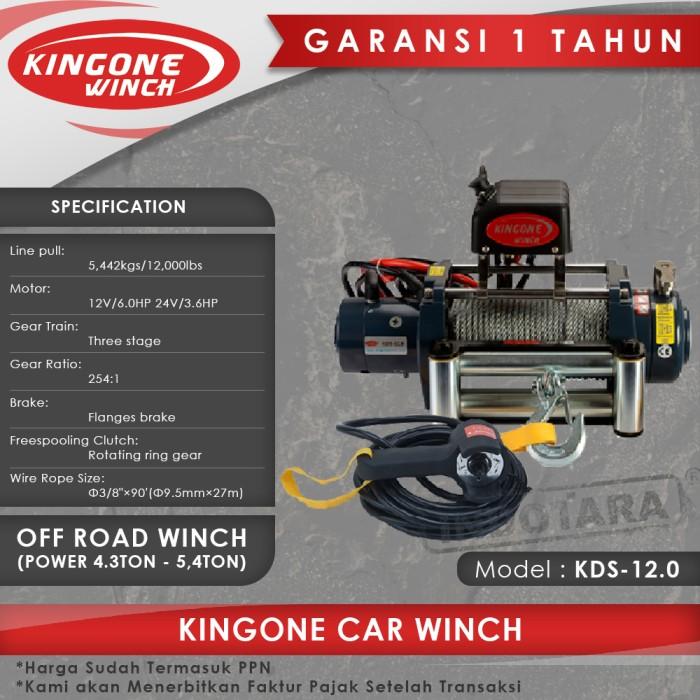 harga Kingone car off road winch kds 12.0 Tokopedia.com