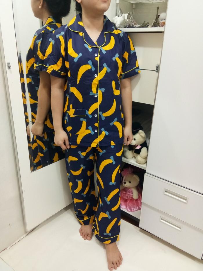Foto Produk Baju Tidur Piyama CP Katun Jepang/CP Banana Pita dari Elvindo_shop