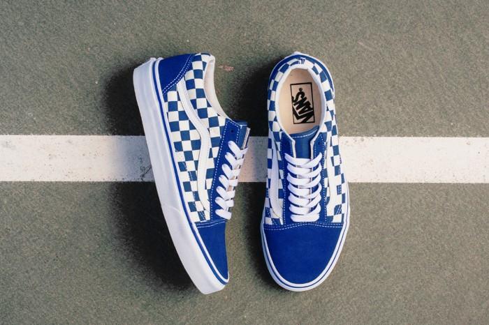 42f32d7f Jual Vans Primary Check Old Skool True Blue White - Jakarta Selatan -  sneakersslovers.ind | Tokopedia