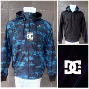 jaket bb dc army biru-hitam/jaket bb dc/murah