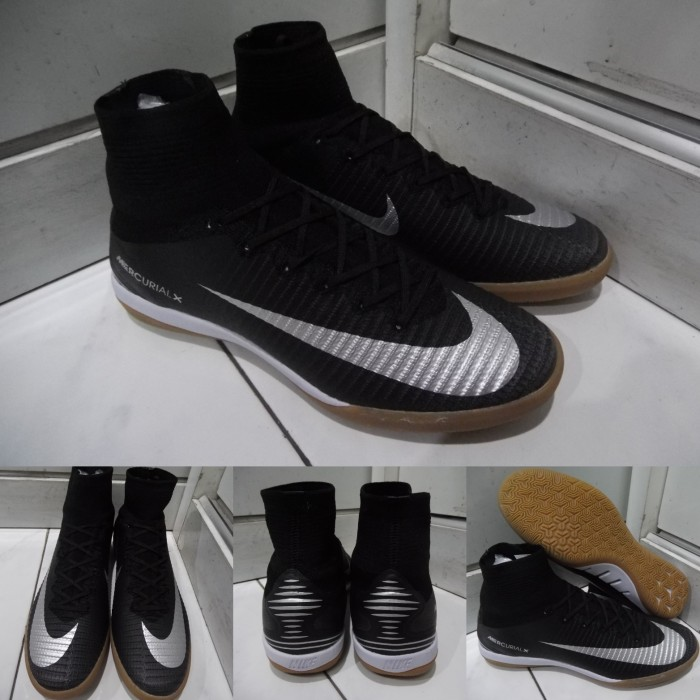 3cd0704651f harga Sepatu futsal nike mercurial superfly x flyknit ic black gold hitam  Tokopedia.com