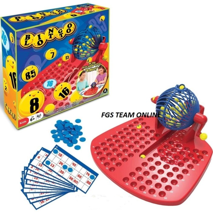 harga Best seller mainan anak bingo lotto number games funny fames family Tokopedia.com