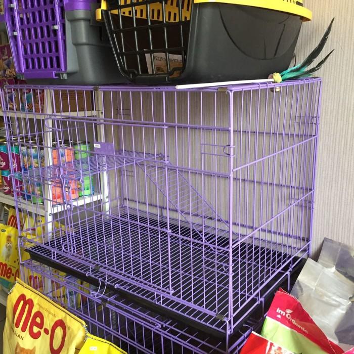 harga Kandang Lipat Besi Kucing Tingkat Tokopedia.com