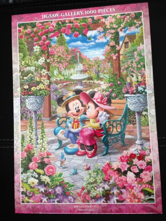 harga Disney jigsaw puzzle 1000 pcs - royal garden of love Tokopedia.com