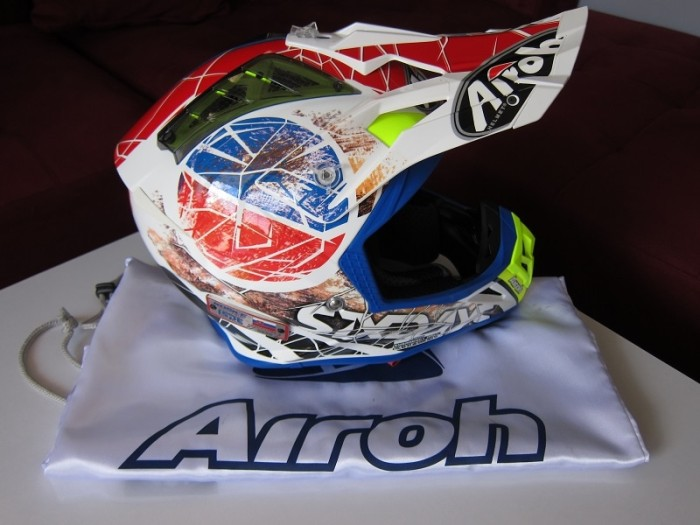 Helm Airoh Aviator 2 2 Limited Edition Six Day Original Cross Trail 1