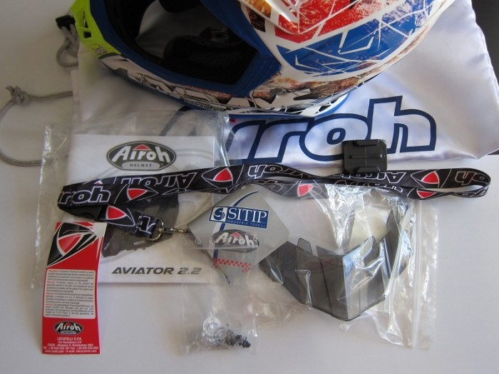 Helm Airoh Aviator 2 2 Limited Edition Six Day Original Cross Trail 3
