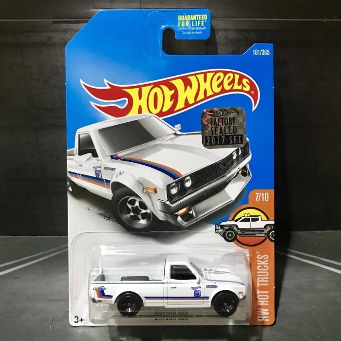 Hot wheels datsun 620 factory sealed…