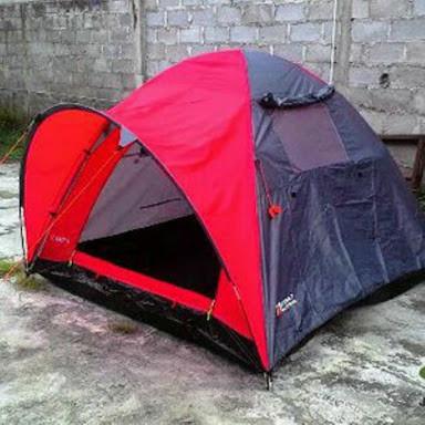 Tenda camping | dome bestway kapasitas 4 orang ( bekas rental )
