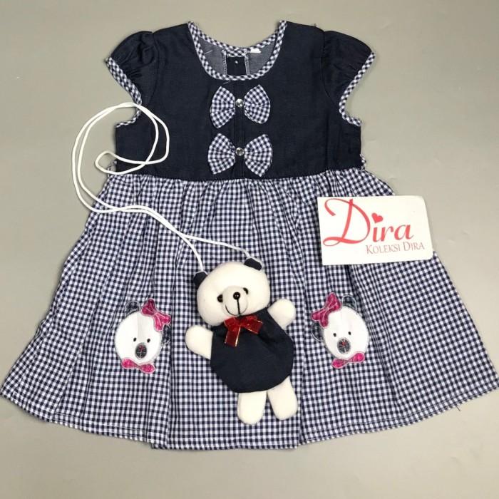 harga Baju dress anak balita perempuan cewek lucu murah kotak021 Tokopedia.com