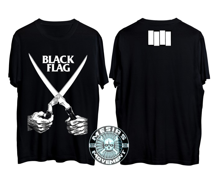 harga Kaos hardcore punk blackflag Tokopedia.com