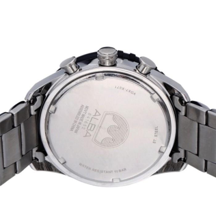 Alba Signa Chronograph Jam Tangan Pria - Stainless Steel - AM3327X1