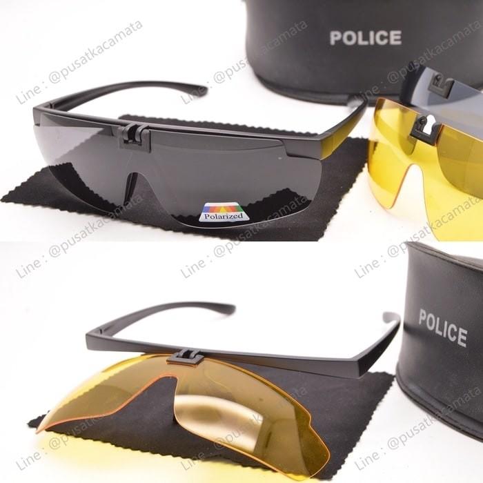 harga Promo kacamata sunglass night view polarized clip on plc-7653 Tokopedia.com
