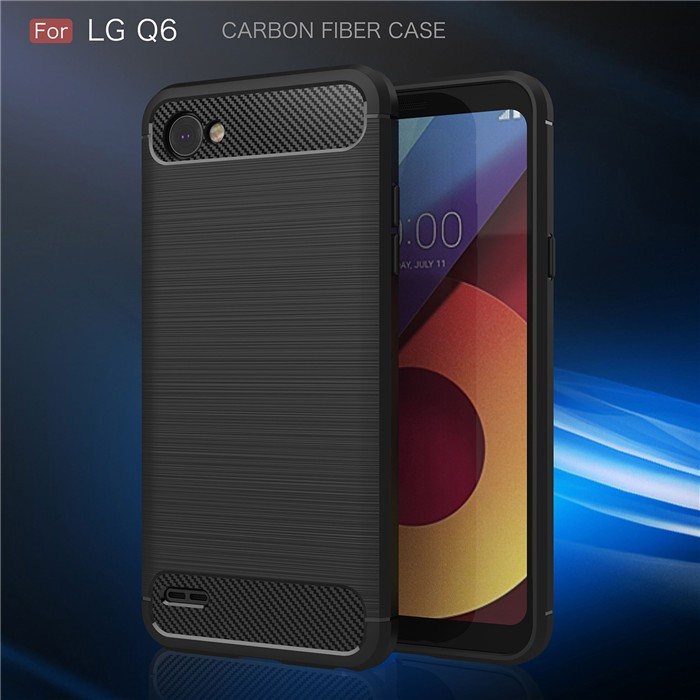 Jual Fiber Line Lg Q6 Q6 Plus Spigen Like Cover Soft Case Casing