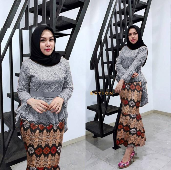 Jual Kebaya Muslim Wisuda Jessica Modern Rok Duyung Batik Jakarta Utara Fashion Terkini Tokopedia