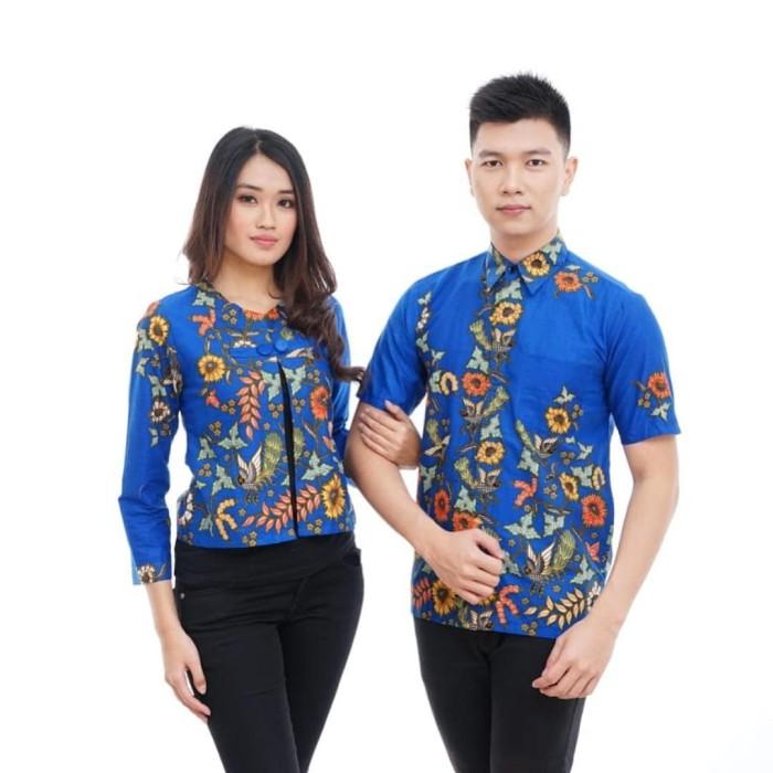 Jual CPPS113 Model Baju Batik Couple Bahan Primis Terbaru 2018 Murah ... f335a07a4a