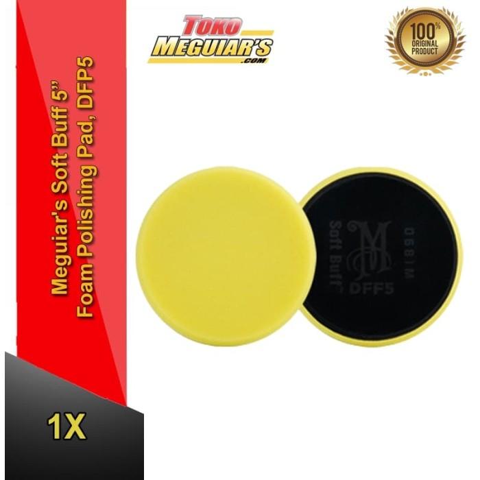 harga Meguiar's soft buff 5 foam polishing pad dfp5 - poles pad Tokopedia.com