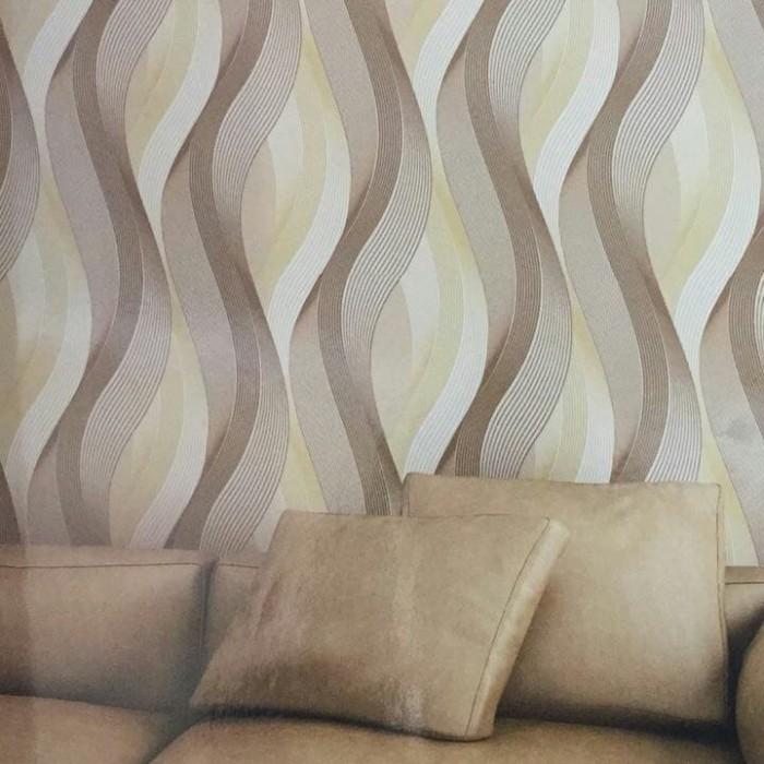 Jual Wallpaper Dinding Motif Salur Minimalis 3d Home Kota Bekasi Indah Wallpaper Tokopedia