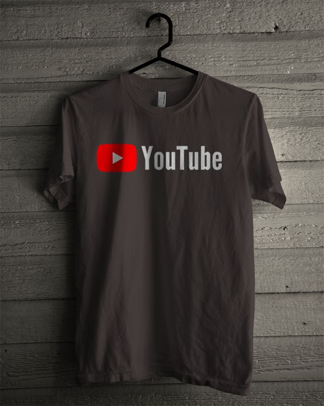 Kaos Distro Youtube T Shirt Black - Daftar Harga Terlengkap Indonesia aedf601170