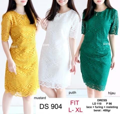 harga Seds904 dress pesta brukat bodycon lace dress kantor premium quality Tokopedia.com