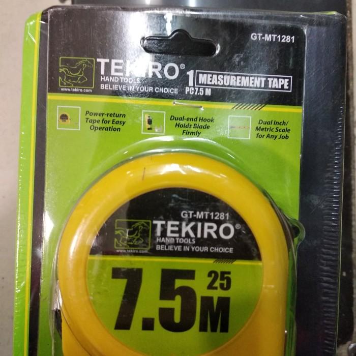 METERAN TEKIRO 7,5 METER - MEASURING TAPE TEKIRO 7,5 METER - METERAN