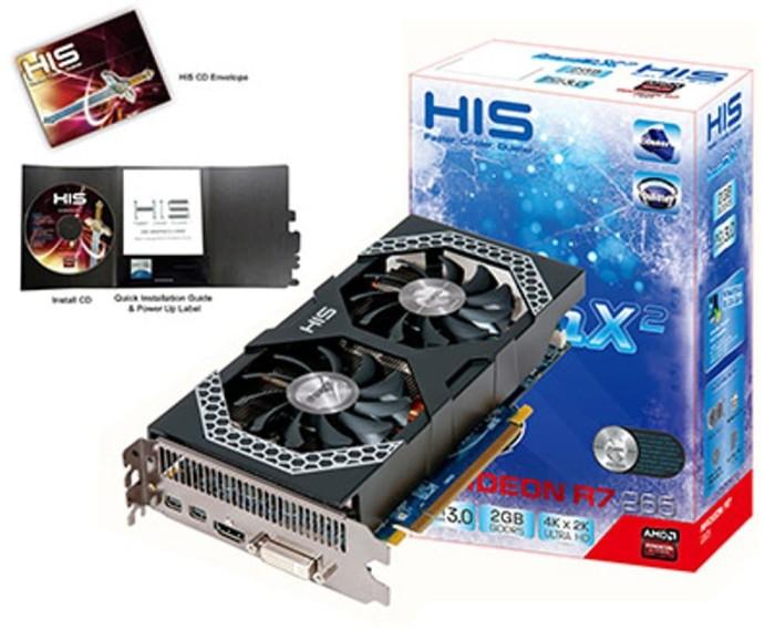 Foto Produk STARCONS - His Radeon R7-265 ICEQ X2 2GB DDR5 256 BIT dari STARCONS