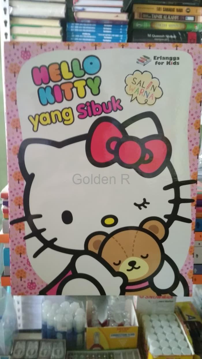 Jual Promo BEST SELLER HELLO KITTY YANG SIBUK ORIGINAL Jakarta Barat Golden R