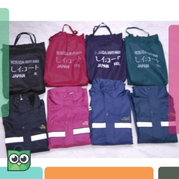 Jas Hujan AXIO Europe 882 ORIGINAL old bag Size M, L, XL, XXL