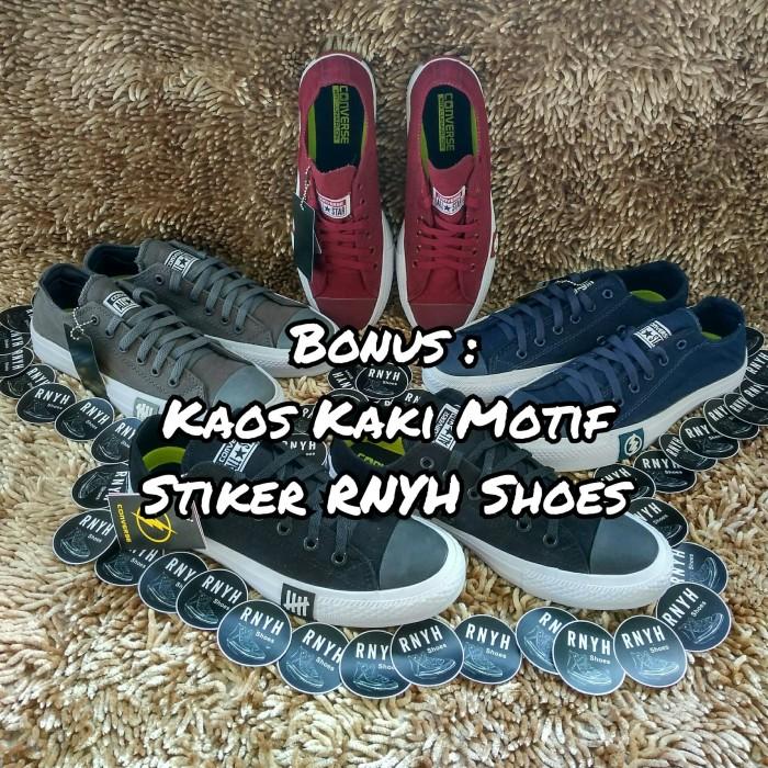 Sepatu Ct Chuck Taylor X Undefeated The Flash Black - Daftar Harga ... b2ba4b3b70