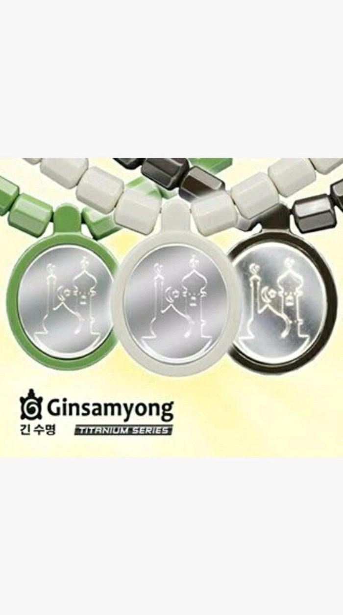 Harga Promo Limited Kalung Gelang Kesehatan Ginsamyong Titanium Original Dijual Oleh Najahshop003 Di Tokopedia Rp 2009000 Jual