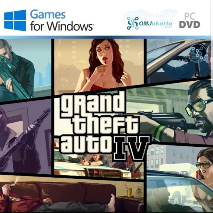 harga Gta 4 - grand theft auto iv Tokopedia.com