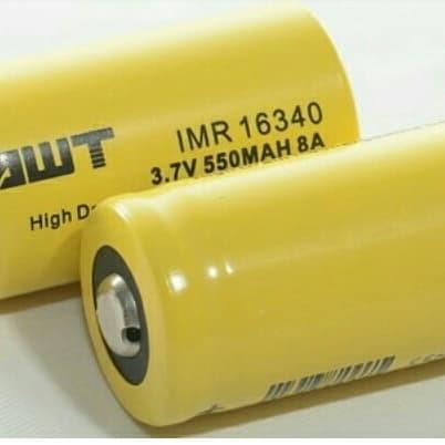 Foto Produk AWT Baterai 16340 - Battery RCR123 dari RedSkyonline