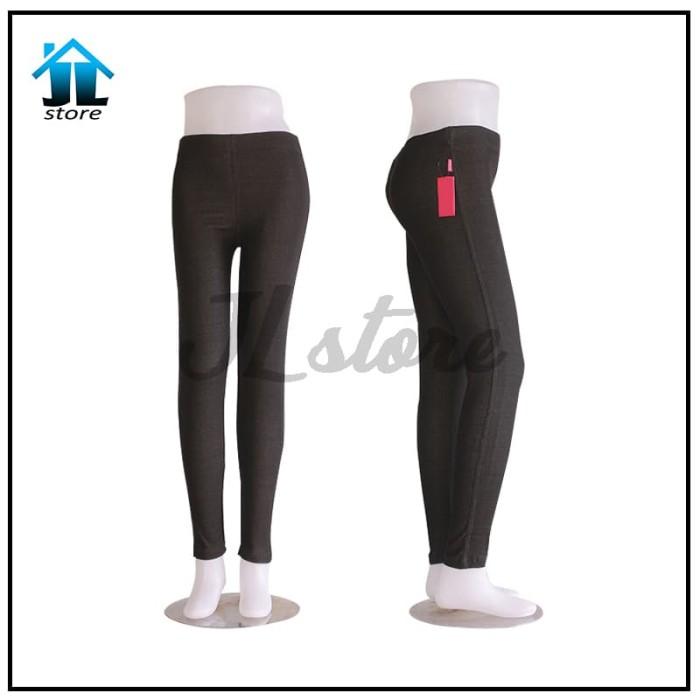 Jual Legging Denim Celana Jegging Semi Jeans Kota Depok Jl Store Tokopedia